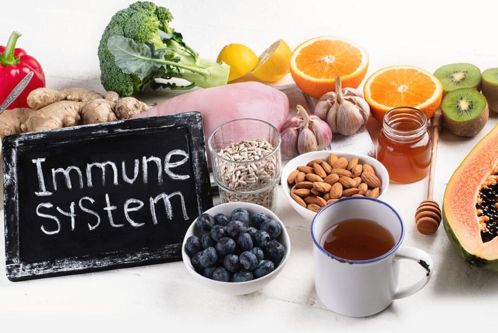 Alimentazione e Sistema Immunitario - Apoteca Natura