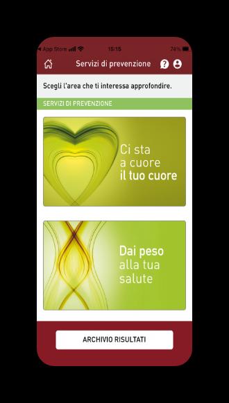 Vuoi avere consigli personalizzati per la prevenzione? Servizi di prevenzione - My Apoteca Natura