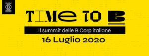 Time To B – Il Summit italiano delle B Corp - Apoteca Natura